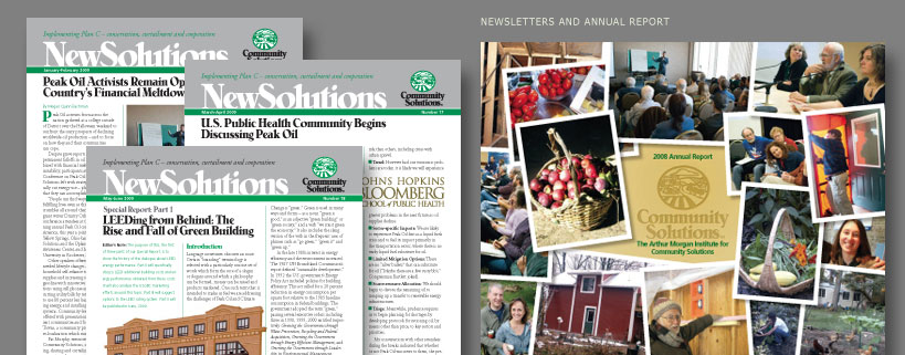 Newsletters and Annual Report